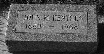 HENTGES, JOHN M. - Plymouth County, Iowa | JOHN M. HENTGES