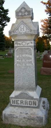 HERRON, WILLIAM E. - Plymouth County, Iowa | WILLIAM E. HERRON