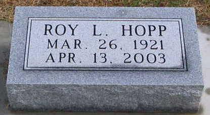 HOPP, ROY - Plymouth County, Iowa | ROY HOPP