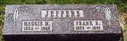 JEFFERS, MARGARET MAUD - Plymouth County, Iowa | MARGARET MAUD JEFFERS