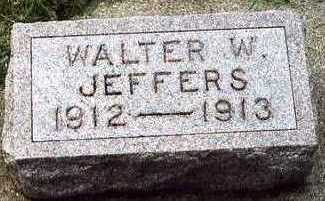 JEFFERS, WALTER WAYNE - Plymouth County, Iowa | WALTER WAYNE JEFFERS