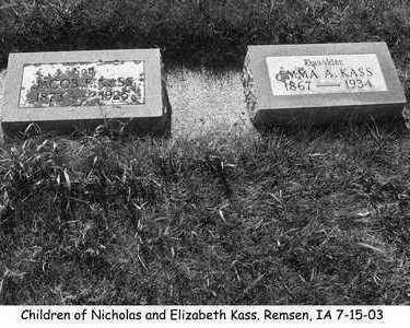 KASS, EMMA - Plymouth County, Iowa | EMMA KASS