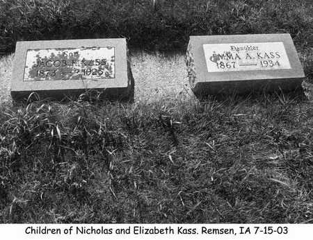 KASS, JACOB - Plymouth County, Iowa | JACOB KASS