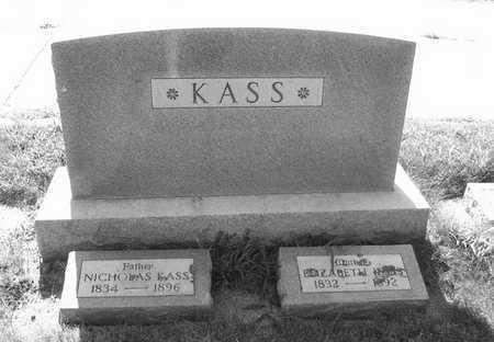 KASS, ELIZABETH - Plymouth County, Iowa | ELIZABETH KASS