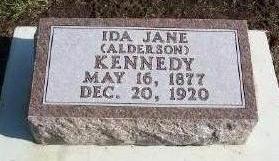 ALDERSON KENNEDY, IDA - Plymouth County, Iowa | IDA ALDERSON KENNEDY