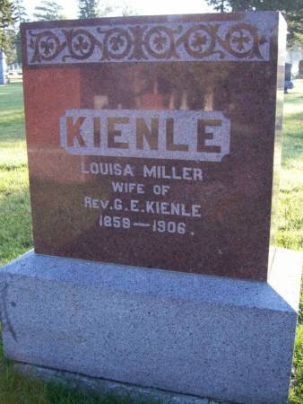 KIENLE, LOUISA - Plymouth County, Iowa | LOUISA KIENLE