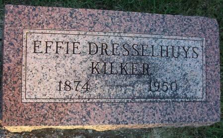 DRESSELHUYS KILKER, EFFIE - Plymouth County, Iowa   EFFIE DRESSELHUYS KILKER