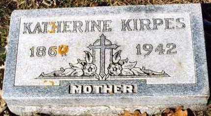KIRPES, KATHERINE - Plymouth County, Iowa | KATHERINE KIRPES