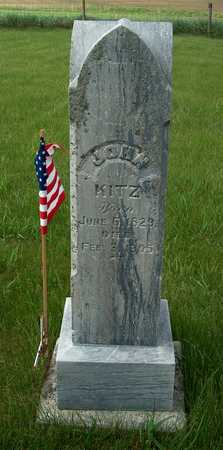 KITZ, JOHN - Plymouth County, Iowa | JOHN KITZ