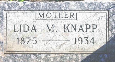 KNAPP, LYDIA M. - Plymouth County, Iowa | LYDIA M. KNAPP