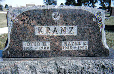 KRANZ, OTTO - Plymouth County, Iowa | OTTO KRANZ