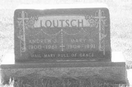LOUTSCH, MARY M. - Plymouth County, Iowa | MARY M. LOUTSCH