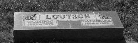 LOUTSCH, CATHERINE - Plymouth County, Iowa | CATHERINE LOUTSCH