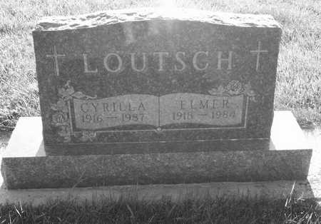 LOUTSCH, CYRILLA - Plymouth County, Iowa | CYRILLA LOUTSCH