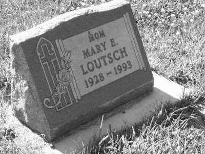 LOUTSCH, MARY E. - Plymouth County, Iowa | MARY E. LOUTSCH