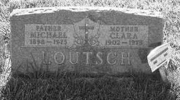 LOUTSCH, CLARA - Plymouth County, Iowa | CLARA LOUTSCH