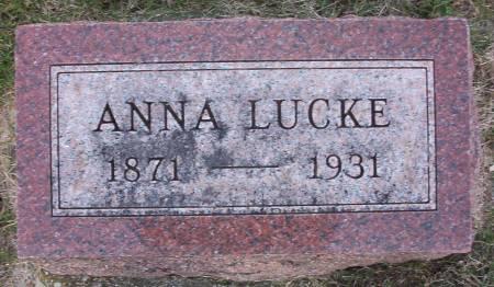 LUCKE, ANNA - Plymouth County, Iowa | ANNA LUCKE