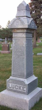 LUCKE, THEODORE - Plymouth County, Iowa | THEODORE LUCKE