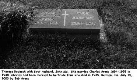MAI, JOHN - Plymouth County, Iowa | JOHN MAI
