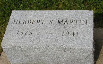 MARTIN, HERBERT S - Plymouth County, Iowa | HERBERT S MARTIN