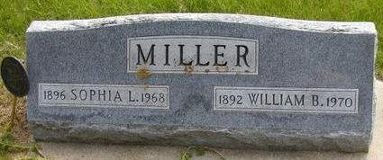 MILLER, WILLIAM B - Plymouth County, Iowa | WILLIAM B MILLER