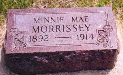 MORRISSEY, MINNIE MAE - Plymouth County, Iowa | MINNIE MAE MORRISSEY