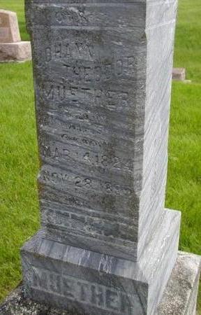 MUETHER, JOHANN THEODOR - Plymouth County, Iowa   JOHANN THEODOR MUETHER