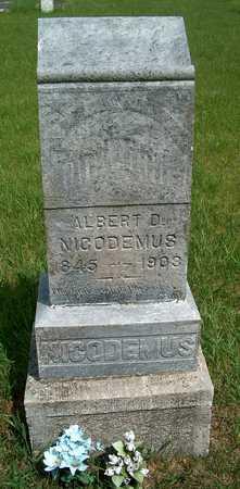 NICODEMUIS, ALBERT D. - Plymouth County, Iowa | ALBERT D. NICODEMUIS