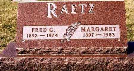 RAETZ, MARGARET - Plymouth County, Iowa | MARGARET RAETZ
