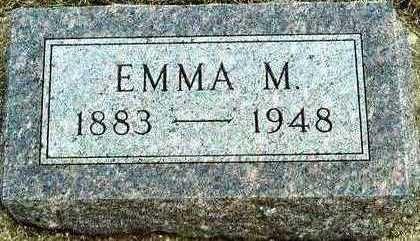 DETLOFF REES, EMMA MATHILDA - Plymouth County, Iowa | EMMA MATHILDA DETLOFF REES