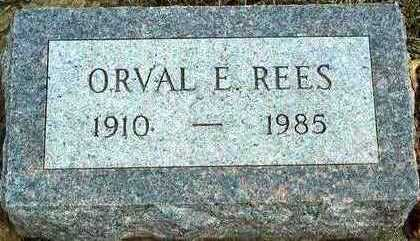 REES, ORVAL E. - Plymouth County, Iowa | ORVAL E. REES