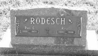 RODESCH, PAUL C. - Plymouth County, Iowa | PAUL C. RODESCH