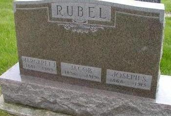 RUBEL, JACOB - Plymouth County, Iowa | JACOB RUBEL