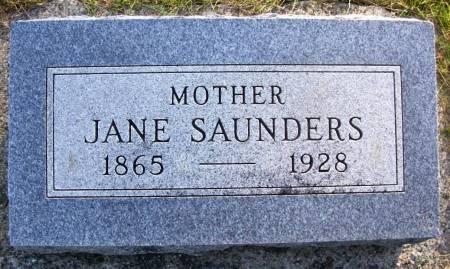 SAUNDERS, JANE - Plymouth County, Iowa | JANE SAUNDERS