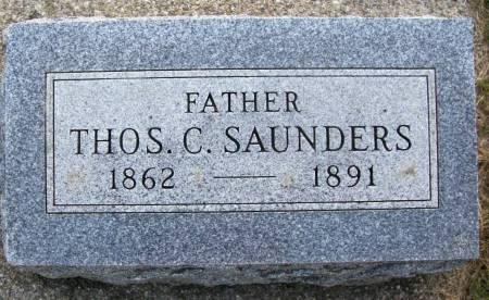 SAUNDERS, THOS. C. - Plymouth County, Iowa   THOS. C. SAUNDERS