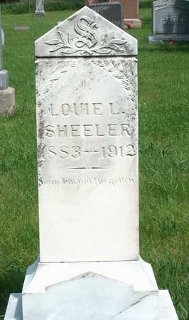 SHEELER, LOUIE L. - Plymouth County, Iowa | LOUIE L. SHEELER