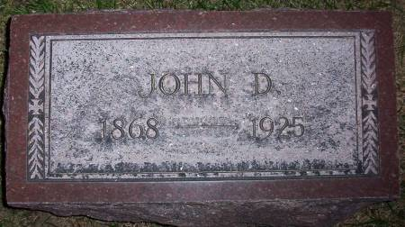 SIEBELS, JOHN D. - Plymouth County, Iowa   JOHN D. SIEBELS