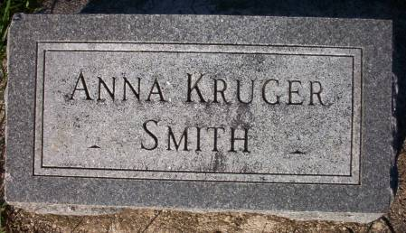 KRUGER SMITH, ANNA - Plymouth County, Iowa | ANNA KRUGER SMITH