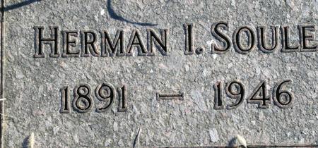 SOULE, HERMAN I. - Plymouth County, Iowa | HERMAN I. SOULE