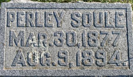SOULE, PERLEY - Plymouth County, Iowa | PERLEY SOULE
