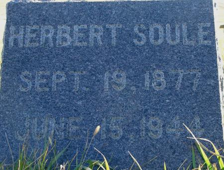 SOULE, ROBERT - Plymouth County, Iowa | ROBERT SOULE