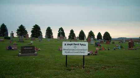 ST. JOSEPH-NEPTUNE, SIGN - Plymouth County, Iowa   SIGN ST. JOSEPH-NEPTUNE