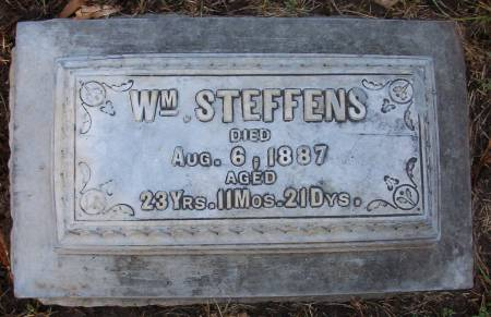 STEFFENS, WILLIAM - Plymouth County, Iowa | WILLIAM STEFFENS