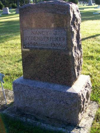 SYDENSTRIKER, NANCY J. - Plymouth County, Iowa | NANCY J. SYDENSTRIKER