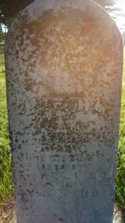 VERHEUL, BERTHA - Plymouth County, Iowa | BERTHA VERHEUL