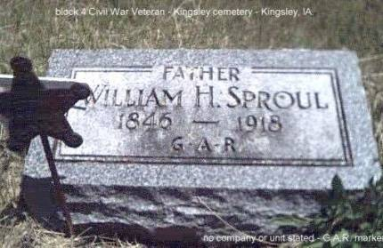 SPROUL, WILLIAM H. - Plymouth County, Iowa | WILLIAM H. SPROUL