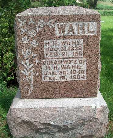 WAHL, H. H. - Plymouth County, Iowa | H. H. WAHL
