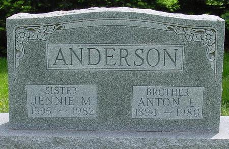 ANDERSON, ANTON - Pocahontas County, Iowa | ANTON ANDERSON