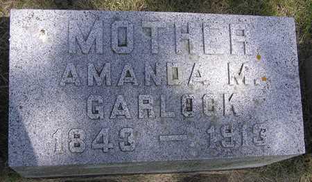 GARLOCK, AMANDA - Pocahontas County, Iowa | AMANDA GARLOCK