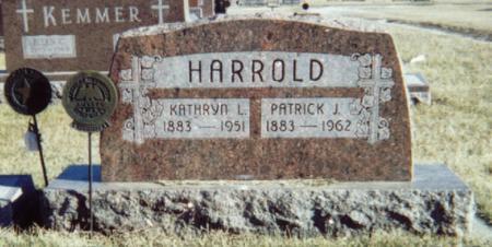 HARROLD, PATRICK J. - Pocahontas County, Iowa | PATRICK J. HARROLD